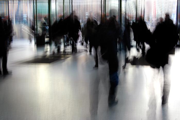 Gare du Nord - Bruxelles - journalistes web