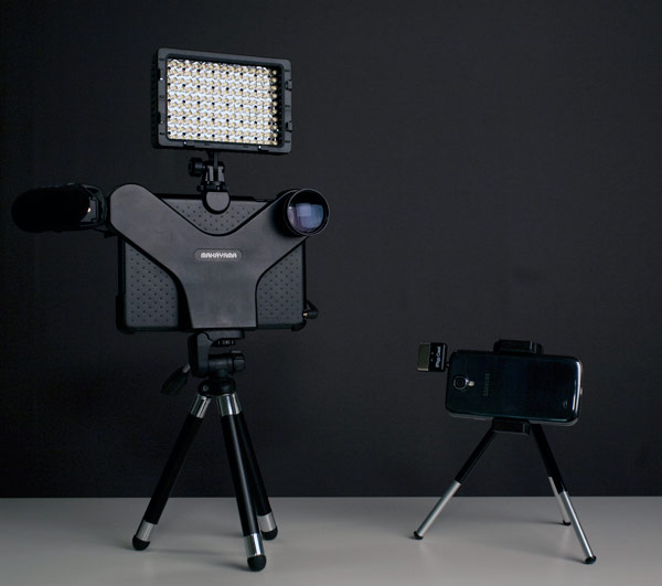 Kit iReporter iPad + Smartphone