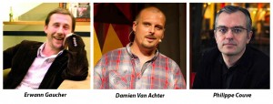 Erwann Gaucher, Damien van Achter, Philippe Couve -mediatype.be