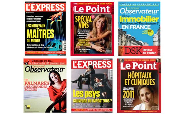 """""""Dans le secret de la face cachée des magazines"""", un article d'Isabelle Hanne - ecrans.fr"""