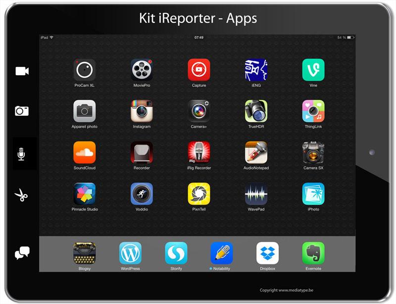 Applis Kit iReporter