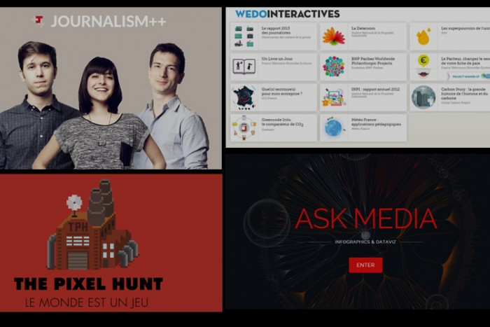 Agences web - journalisme