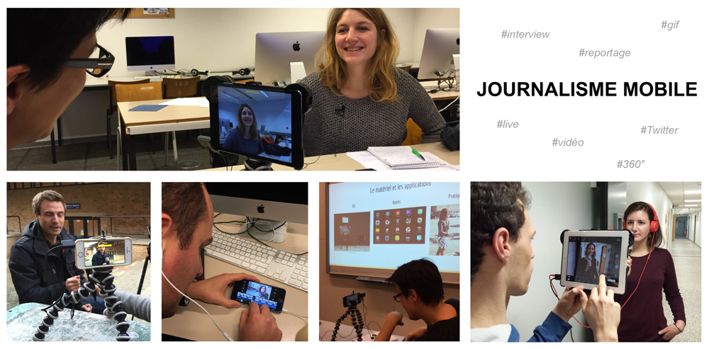 Journalisme mobile formation Nicolas Becquet