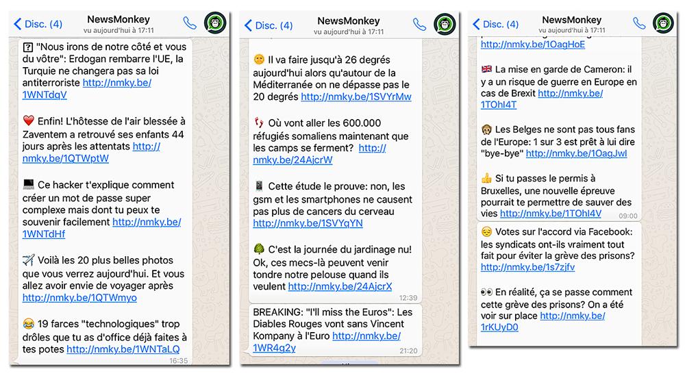 Whatsapp - NewMonkey