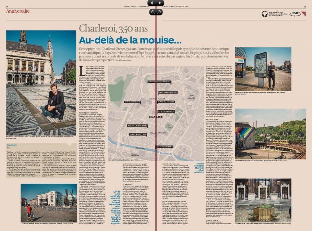 Journal L'Echo - Mélanie Noiret